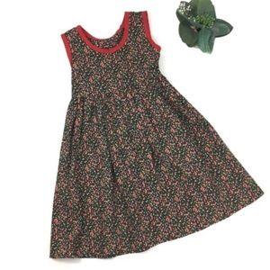 Handmade Ditzy Floral Dress size 7/8 Medium